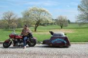 The DogSaucer Motorcycle Trailer_1