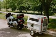 The DogSaucer Motorcycle Trailer_3
