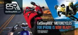 EatSleepRIDE Motorcycles for iPhone is Ready!