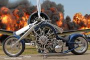 Airplane Engine Powered Motorcycle_2
