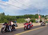 Ride in to Weirs Beach Laconia Bike Week '13