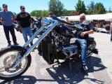 Do You Need to Be Crazy? V8 Bike With Chevy Engine