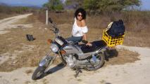 Marina in Mexico field w/ Honda CGL125