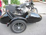BMW R75/6 with sidecar