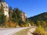 Riding Through Spearfish Canyon