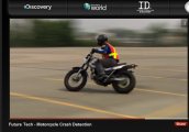 RTI instructor tests CrashLight - Discovery Channel