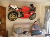 Ducati on the wall