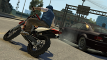 Grand Theft Auto V Motorcycle