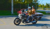Jay Barmi on his Thunderbird Storm - DGR Toronto