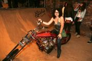 Jason Parker's 1975 Vintage custom motorcycle built by Doug Ahlers