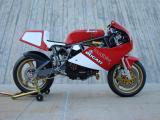 Yellow Bike III 1988 Ducati 750F1 by loudbike