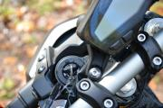FZ09 - Ignition barrel and dash