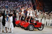Ural Motorcycles in the Olympic Opening Ceremony Ural Motorcycles in the Olympic Opening Ceremony