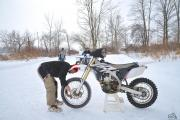 Track Day At The Pond: A Motorcycle Masterclass On Ice