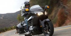 2013 Honda Goldwing F6B - in action
