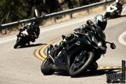 Motorcycles riding on Palomar Mountain Road