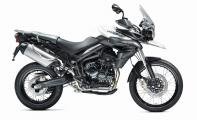 2013 Triumph Tiger 800 XC  - right side view